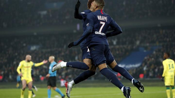 Mbappe i Neymar presudili Nantesu