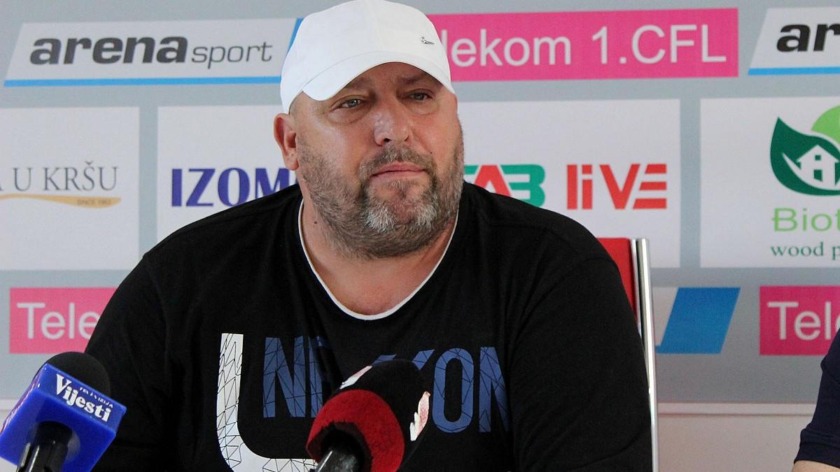 Trener koji je odbio Sarajevo preuzeo Crnogorce, pa poručio: Nisam mađioničar