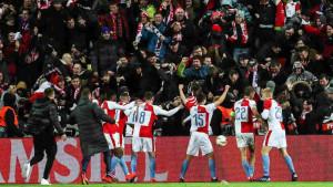 Navijači nisu mogli ući na stadion, ali igrače je očarao prizor s tribina
