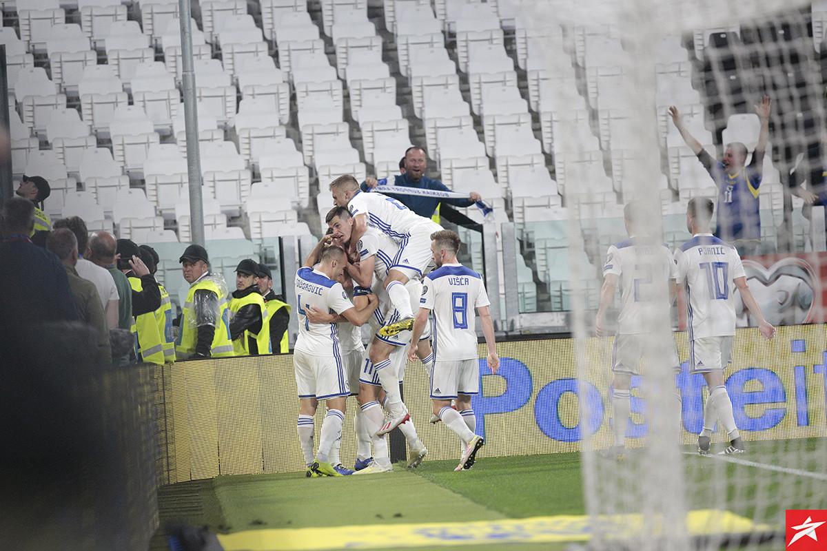 Niko za svoj nastup na Allianz stadiumu nije dobio visoke ocjene kao jedan bh. reprezentativac