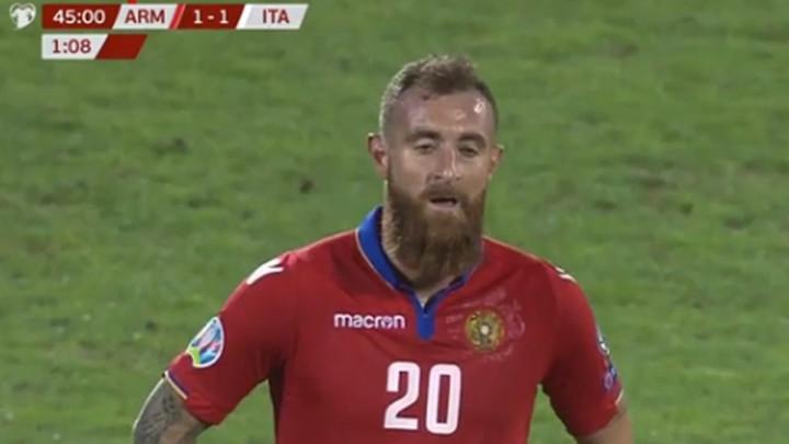 """Armenija u problemima: Karapetian prenaivan za """"glumca"""" Bonuccija"""