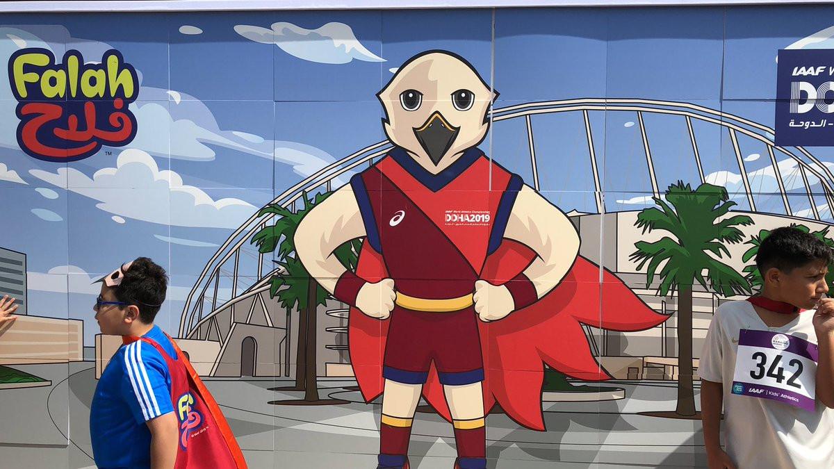 Upoznajte Falah, službenu maskotu Svjetskog prvenstva u atletici 2019