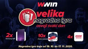 Wwin: Mjesec dana velikih nagrada