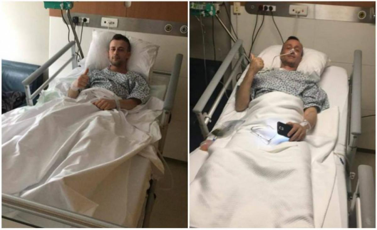 Nogometaš Borca donirao ocu dio jetre, a jučer se uspješno vratio na teren