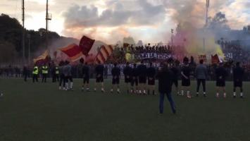 Spremni za derbi: Nevjerovatna atmosfera na treningu Rome
