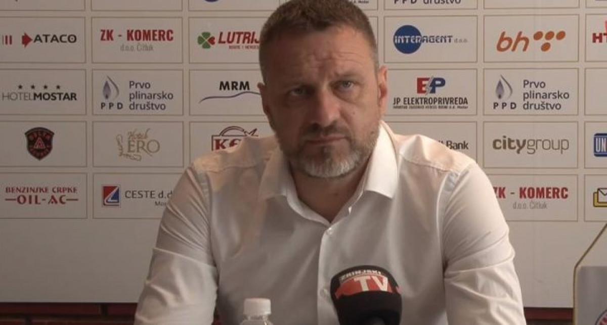 Hari Vukas: Čast je voditi HŠK Zrinjski, ovo mi je najveći izazov u karijeri