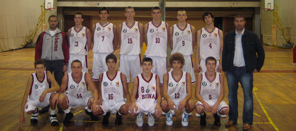 Juniori KK Bosna prvaci države