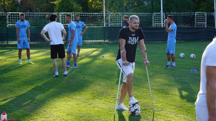 Iznenađenje na treningu Tuzla Cityja