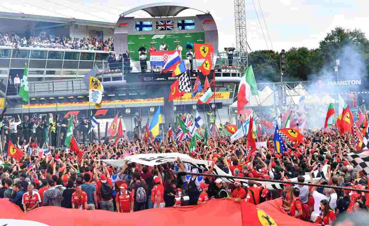 Monza u kalendaru Formule 1 i narednih pet godina