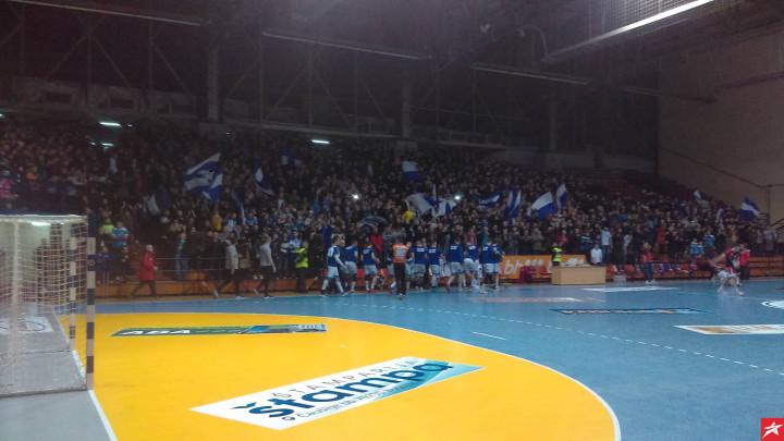 Rukometna reprezentacija BiH protiv Rumunije u Bugojnu
