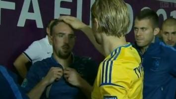 Timoščuk naljutio Riberyja: U tunelu mu pokvario frizuru
