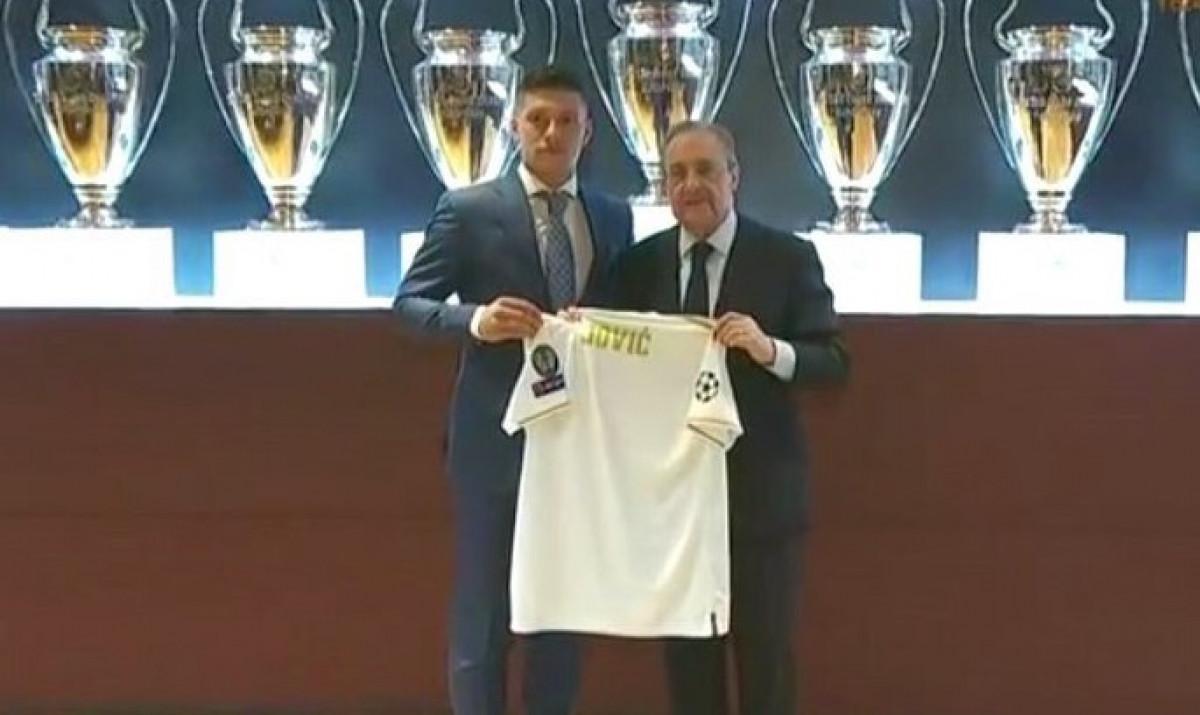 Luka Jović novi igrač Real Madrida!