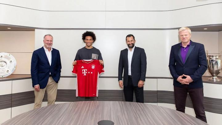Leroy Sane potpisao za Bayern!