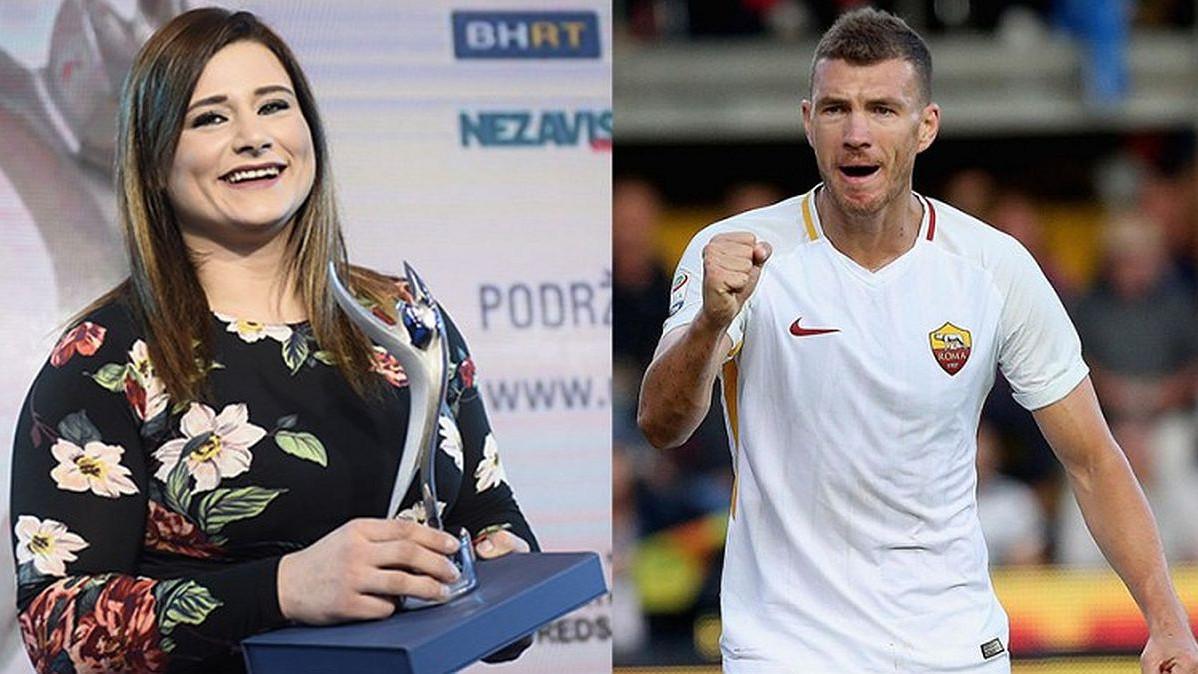 Edin Džeko i Larisa Cerić najbolji bh. sportisti u 2018. godini