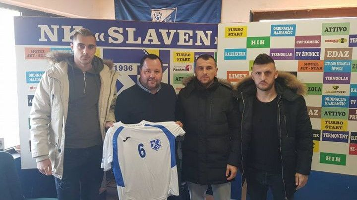 Slaven predstavio trojicu novih fudbalera