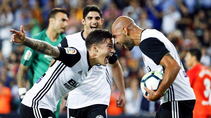 Raspucana Valencia deklasirala Malagu