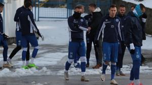 Ekipa FK Željezničar trenirala na Grbavici, Osim bez komentara o mogućem pojačanju