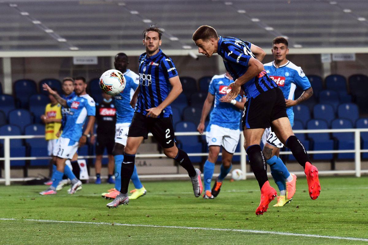 Napoli napušta Bergamo pognute glave