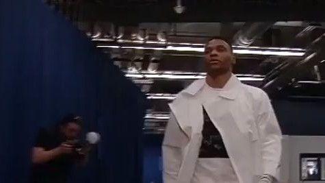 Svi su u nevjerici gledali odjeću Russella Westbrooka