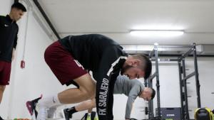 Jelešković u fitness centru natjerao bordo momke da se dobro preznoje