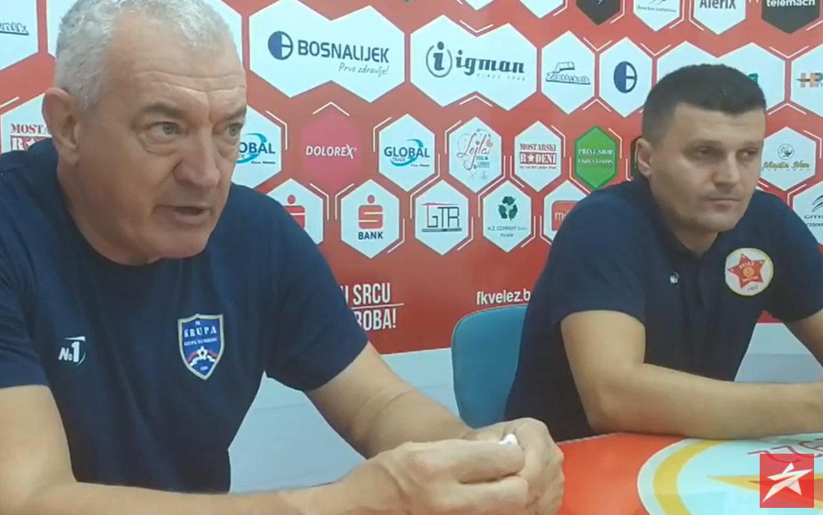 Marić čestitao Veležu, Dudić zadovoljan, govorio i o  gostovanju na Koševu