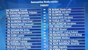 Svi mečevi Kupa BiH u istom terminu, odgođena dva susreta