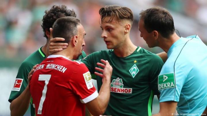 Čega se to boji igrač Werdera?