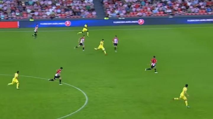 Igrač Villareala pogodio u stilu Davida Beckhama