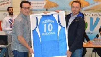 Nurkanović se zvanično oprostio od dresa KK Gradina