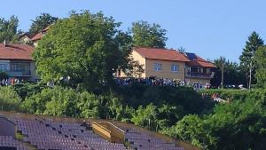 Tribine su prazne, ali Tuzlaci su našli način da daju podršku FK Sloboda