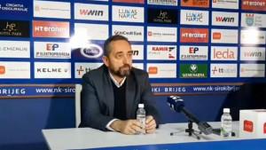Karačić: Čestitam Krupi, mi smo bili u grču