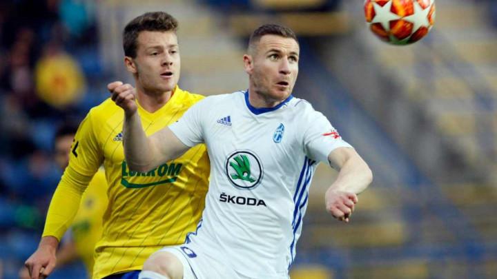 Gol i asistencija Mešanovića u porazu Mlade Boleslav