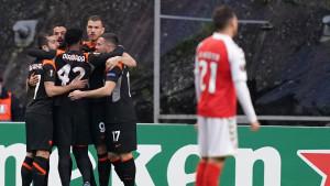 Fantastični Edin Džeko se vratio u početni sastav i zabio gol u pobjedi protiv Brage