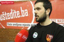 Kosić: Očekujemo da napredujemo iz utakmice u utakmicu