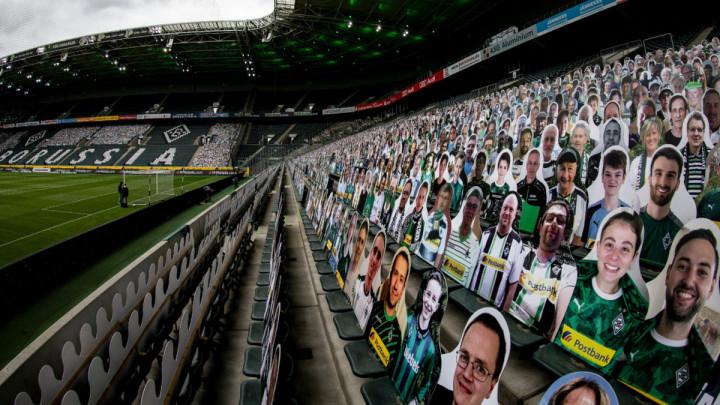 """Među """"kartonskim"""" fanovima danas na Borussia Parku jedan je bio u fokusu"""