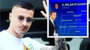 Pogledajte formaciju Giampaolovog Milana: Krunić će biti važan član ekipe!