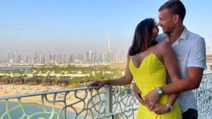 Edin i Amra Džeko na fantastičan način proslavili deset godina veze