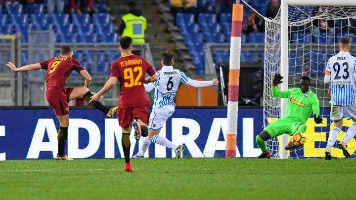 Džeko se vratio starim navikama, Roma i dalje sanja Scudetto