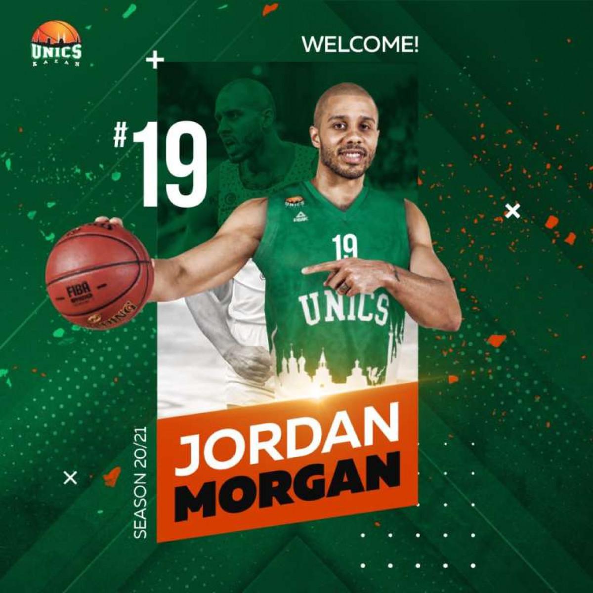 Jordan Morgan umjesto u Panathinaikosu završio u Unicsu