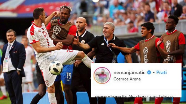 Nemanja Matić objavom na Instagramu raspametio navijače Srbije
