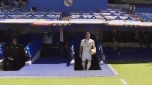 Luka Jović po prvi put istrčao na Santiago Bernabeu