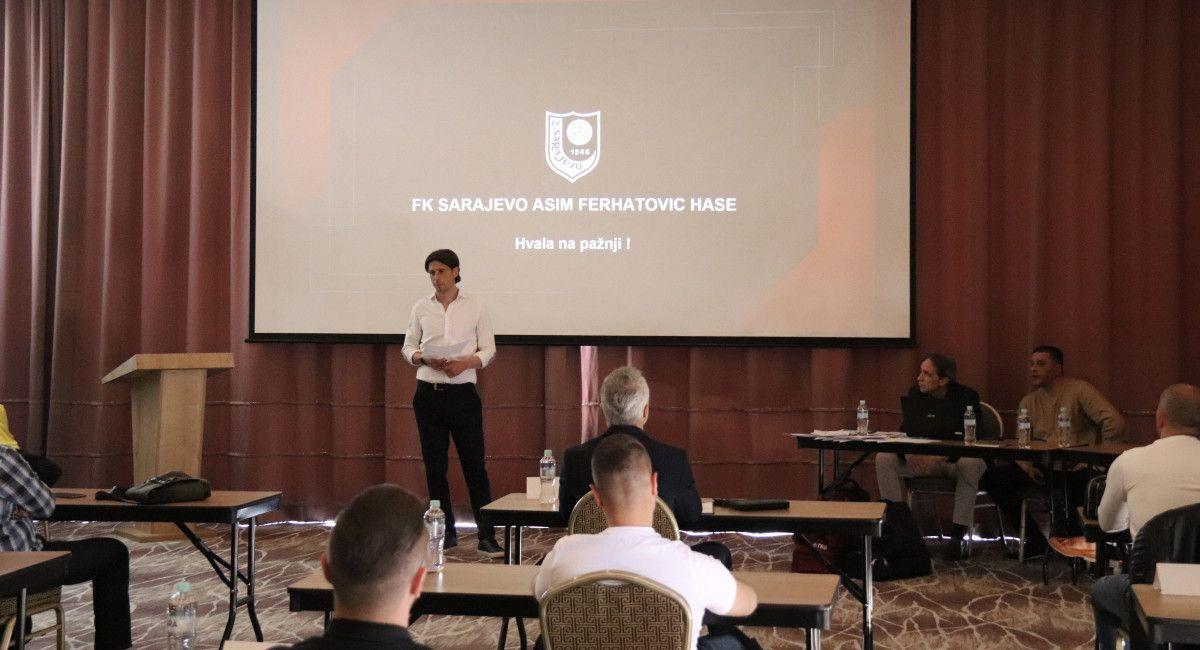 FK Sarajevo predstavio novi koncept rada omladinskog pogona