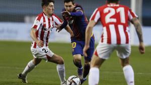 Messiju izrečena kazna za direktan crveni karton protiv Athletica
