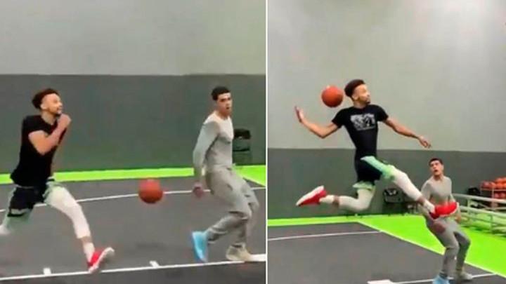 Košarkaš Harlem Globetrottersa izveo zakucavanje koje nikad prije nije viđeno