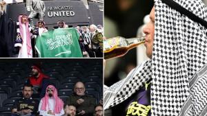 Na St James Parku počela nova era: Hiljade lažnih Arapa, na glavi palestinka, u ruci pivo...