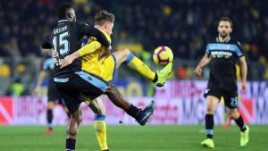 Lazio golom Caiceda pobijedio Frosinone u gostima