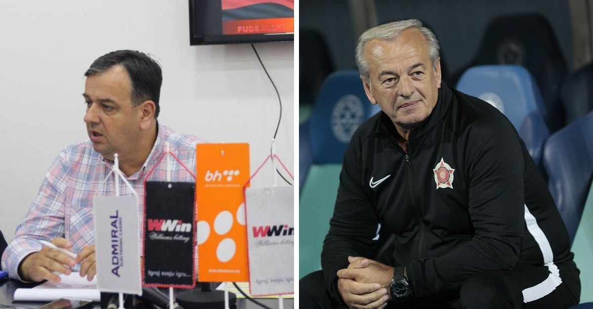 Kozlić: Rješavamo sve unutar kluba, Lazarević: Želio sam da vidim reakcije