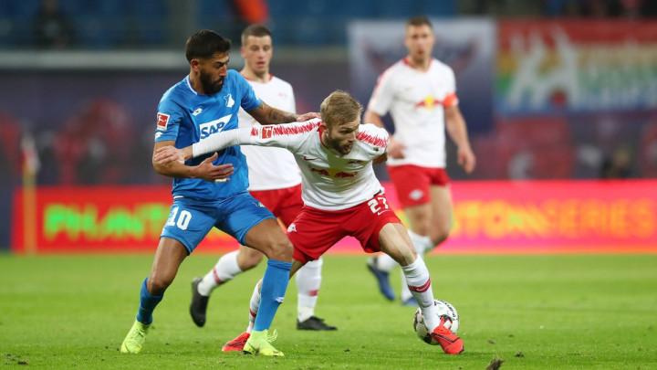 Leipzig napadao sa svih strana, ali na kraju osvojio samo bod protiv Hoffenheima