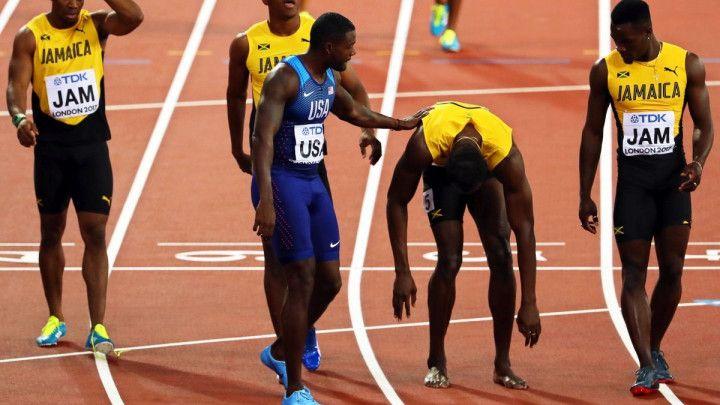 """To mu je """"u krvi"""": Gatlin pod dopingom uzeo zlato na Boltovom oproštaju?"""