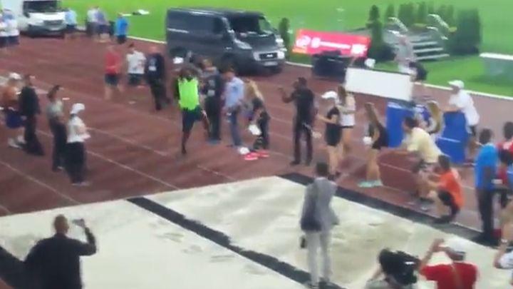 Dočekali smo i to: Bolt se okušao u skoku u dalj